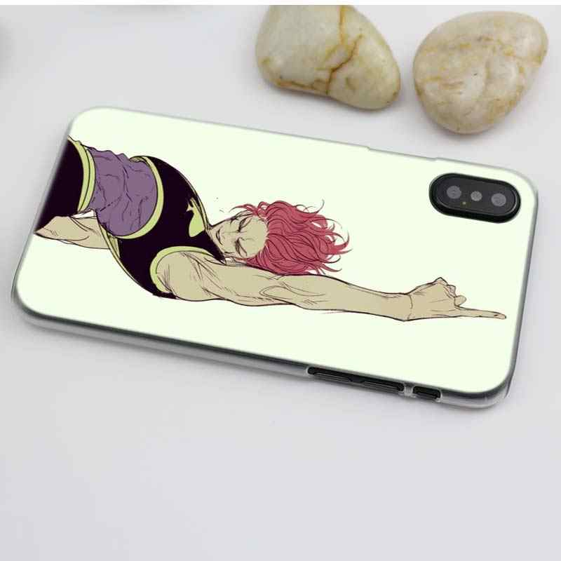 Hisoka Hunter Anime Case for iPhone XS Max XR X or 10 6 6S 7 7S 8 Plus 5s SE 5 4S 4 5C Hard Clear Plastic PC Coque Cover 11 Pro