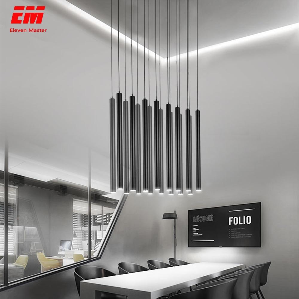 Goede 15W Led Hanglamp Lange Buis Lamp Keuken Eetkamer Winkel Bar GA-17