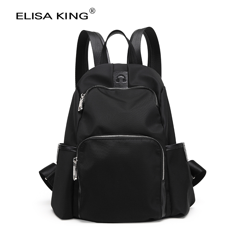 2016 fashion nylon women backpack bag casual waterproof ladies travel bags school bags for teenage girls