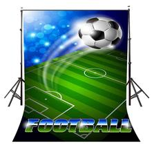 150x220cm Football Field Poster Backdrop Beautifully Dynamic Photography Background