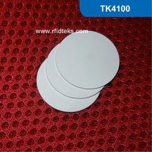 CT30mm RFID Метки, RFID ПВХ Маркер 125 КГц с EM4100 Чип Только для Чтения