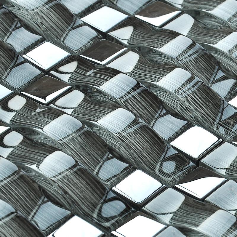 popularne metal kitchen wall tiles kupuj tanie metal