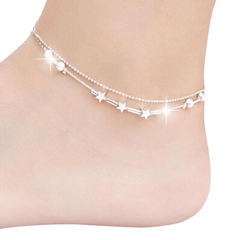 Little Star Chain Ankle Bracelet