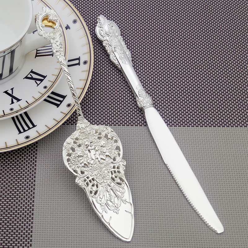 BBO+1 European Knife Shovel Wedding Baroque Cake Divider