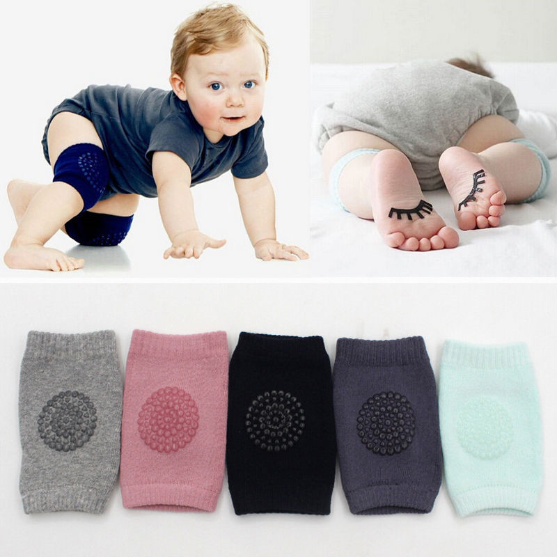 Babies  Kids Safety Crawling Elbow Cushion Infants Toddlers Baby Knee Pads Protector New