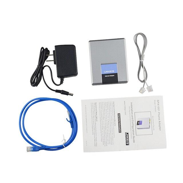Оригинальный телефонными SPA1001 SIP VOIP FXS VOIP телефон адаптер VOIP шлюз SPA1001 без коробки для розничной продажи