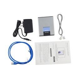 Оригинальный Linksys SPA1001 SIP FXS VOIP телефонный адаптер шлюз VOIP SPA1001 не коробочный
