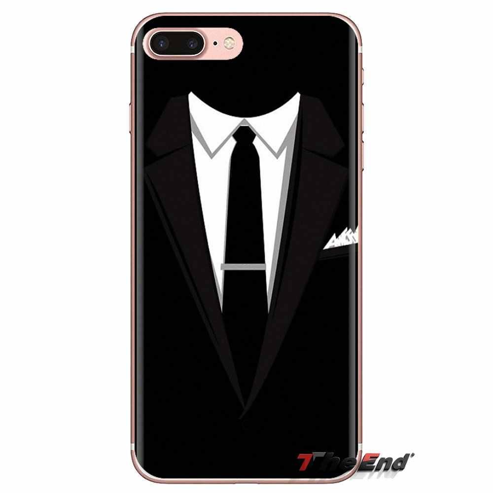 Мягкие чехлы с блестками темный костюм человек-загадка Для мужчин в черном цвете для htc один U11 U12 X9 M7 M8 A9 M9 M10 E9 Plus Desire 630 530 626 628 816 820 830