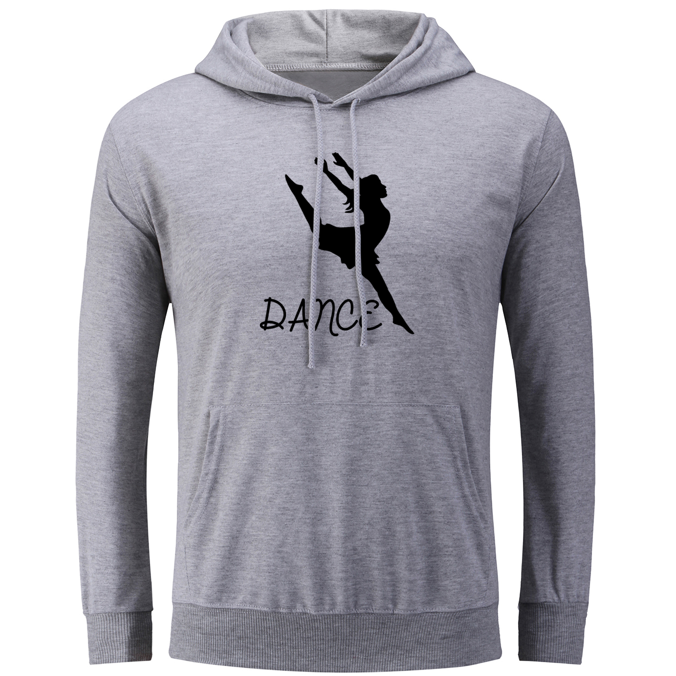 iDzn Womens Hoodies Fashion Dance Design Sweatshirts Long Sleeve Female Tops Hip Hop Cotton Pullovers Spring Autumn Winter Coat