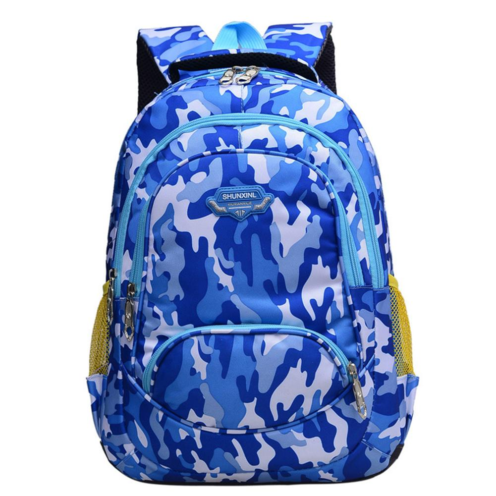 Hot sale Student Camouflage Fresh Bag Fashionable Travel Oxford Bag Unisex Backpack Mochila Feminina