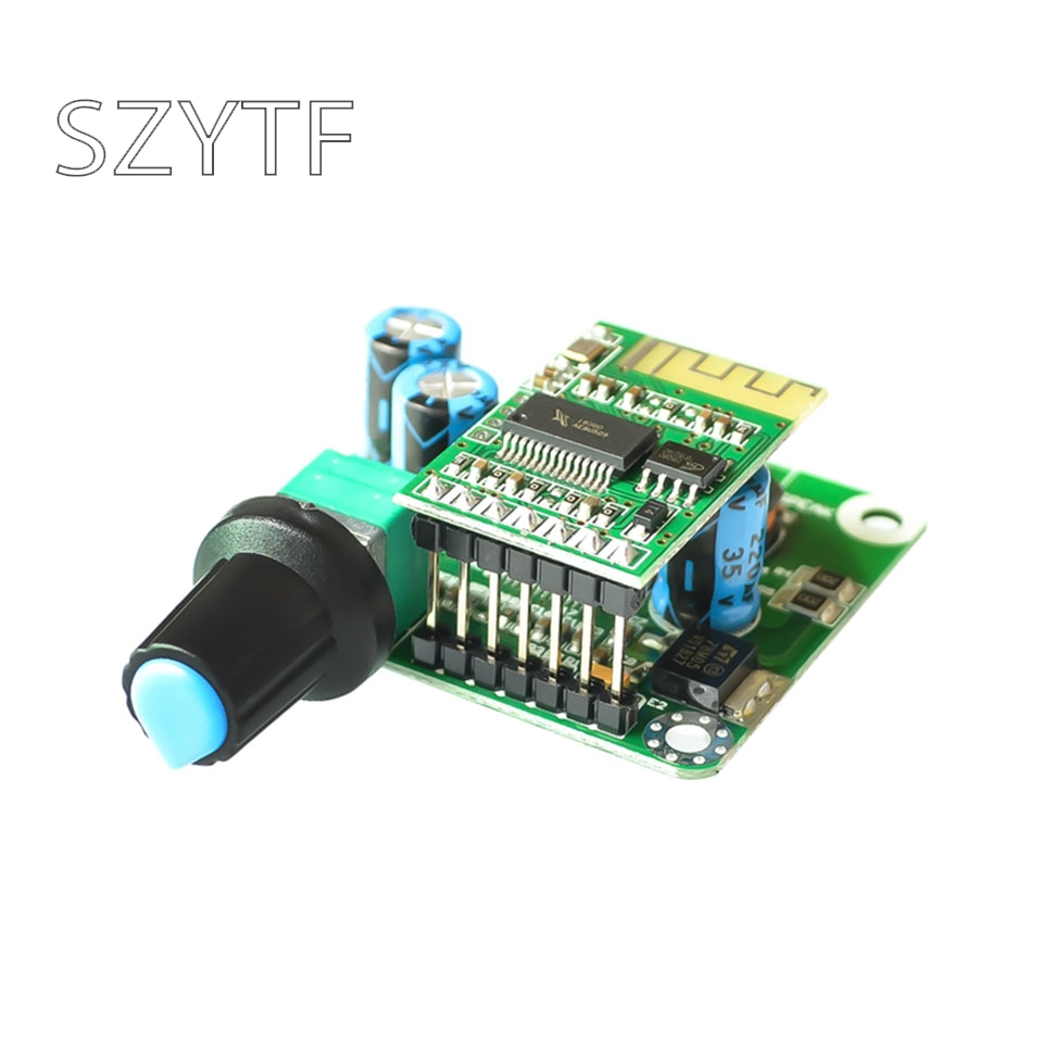 <font><b>5V</b></font> Bluetooth TPA3110 Digital Power <font><b>Amplifier</b></font> Board Stereo Class D Power <font><b>Amplifier</b></font> Board Bluetooth 4.2 Power <font><b>Amplifier</b></font> Board 15W image