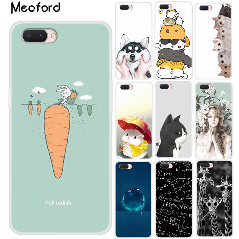 For Oppo A3S Case Oppo A5 Phone Case Soft TPU Silicone Cover Coque For Oppo A3s A 5 CPH1803 CPH1805 OPPOA3s Back Cover 6.2 inch