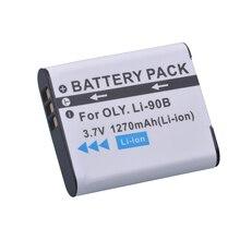 1 pack LI-90B LI 90B LI90B LI-92B Camera Battery For Olympus Tough TG-5 TG-Tracker SH-1 SH-2 SP-100 IHS Tough TG-1 iHS TG-2 iHS