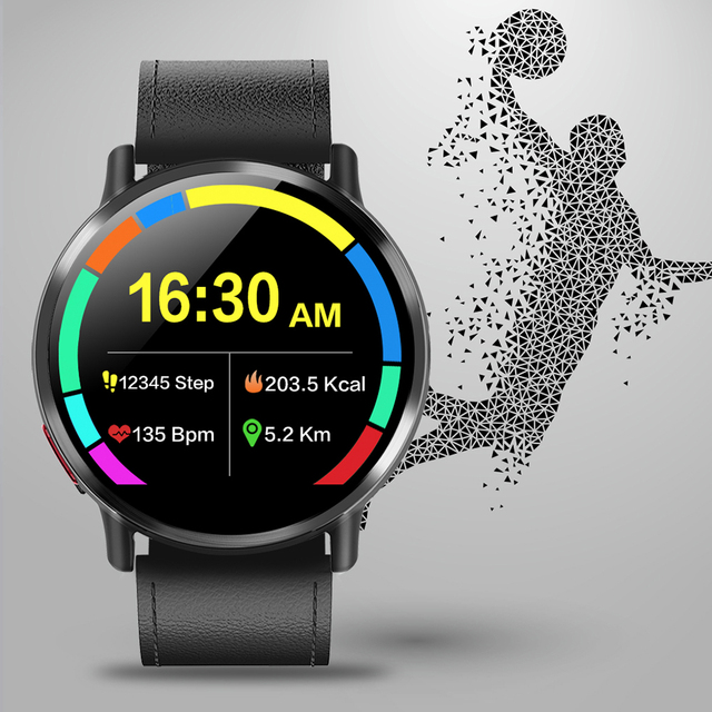 8MP Camera Waterproof Sport GPS Watch Smartwatch 1