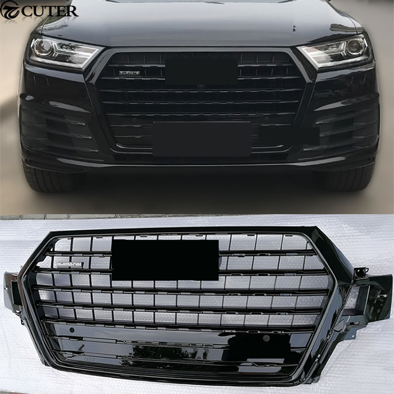 Q7 RSQ7 style ABS Auto Racing Grills Front Grill for Audi Q7 SQ7 S ...