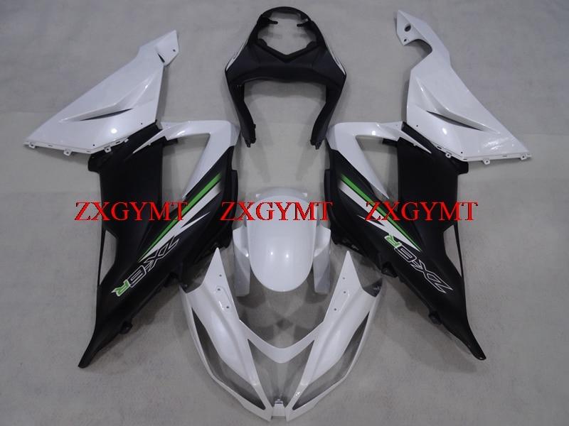 Fairings for 636 Zx-6r 2013 - 2016 Fairings 636 Zx-6r 2016 Black White Body Kits Zx6r 2013Fairings for 636 Zx-6r 2013 - 2016 Fairings 636 Zx-6r 2016 Black White Body Kits Zx6r 2013