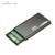 Carcasa parágrafo de alumínio de alumínio 2.5 usb 3.0 hdd recinto msata disco duro terno para 7.5/9mm usb hdd gabinete SSD