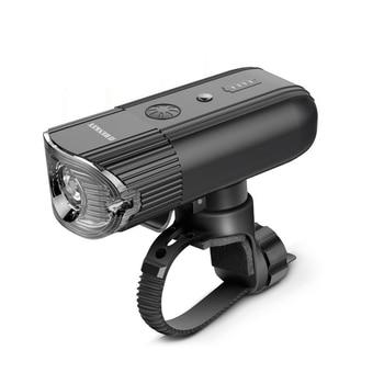 SHENKEY 4000 MAH 800 Lumens Bicycle Light Bike Lamp Front LED Headlight USB Rechargeable Flashlight For Cycling Lanterna