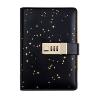 Ring Binder a6 Diary with Lock Planner Refill Daily Journal Travelers Notebook Agenda Password Book