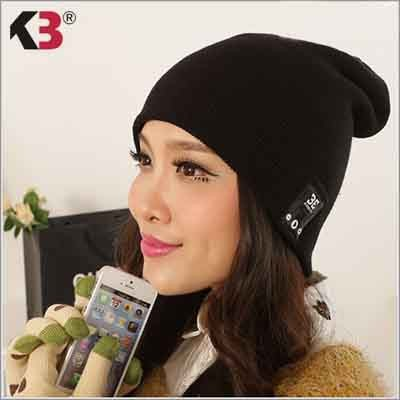 Latest Bluetooth 4.1 Wireless Smart Musical Headphone Beanie Hat Combined with Removable Bluetooth Headset (1)