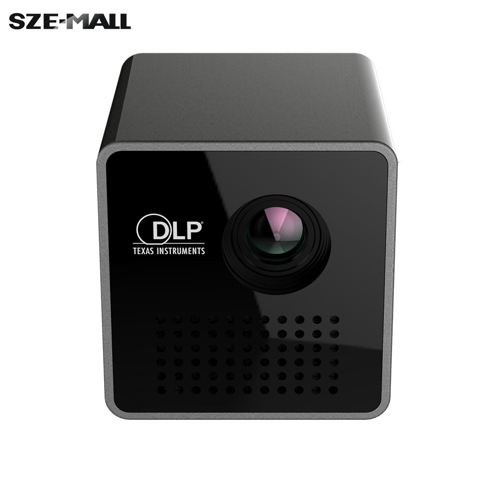 Ultramini dlp projector portable 1080p hd beamer throw 70 for Hd handheld projector