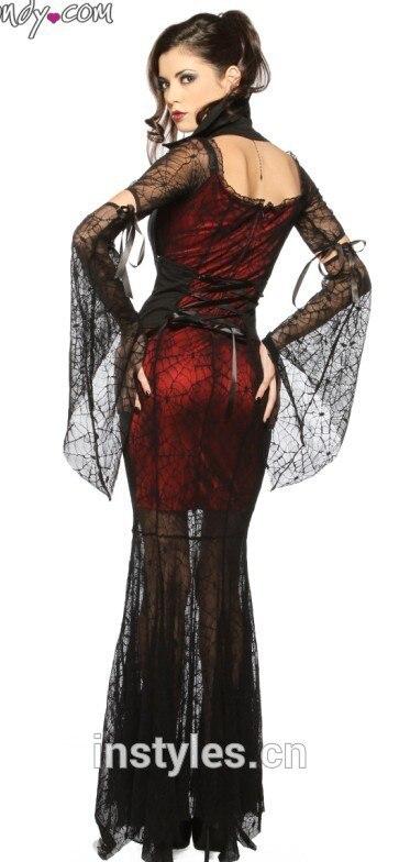 Assustadores Do Dia Das Bruxas do Vestido Extravagante