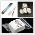 Coil Jig+10m Heating wire+10pcs Japanese Cotton Rebuildable DIY Tools Kit For Electronic cigarette RBA RDA Atomizers FYF115