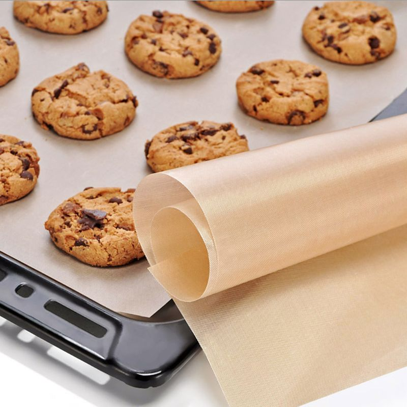 Reusable Baking Mat High Temperature Resistant Teflon Sheet Pastry Baking Oilpaper Heat-Resistant Pad Non-stick For Outdoor BB