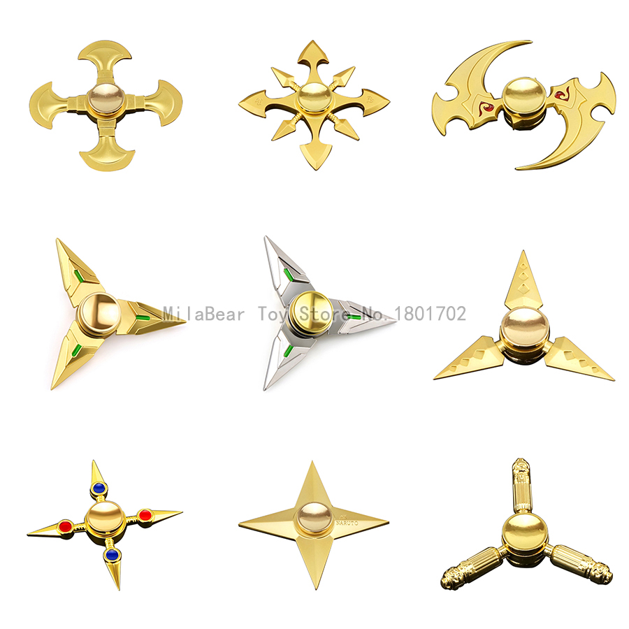 Cheap High Speed Hand Spinner Ultra Fast Cartoon Game Fidget Spinner Metal Gold Stress Wheel Alloy