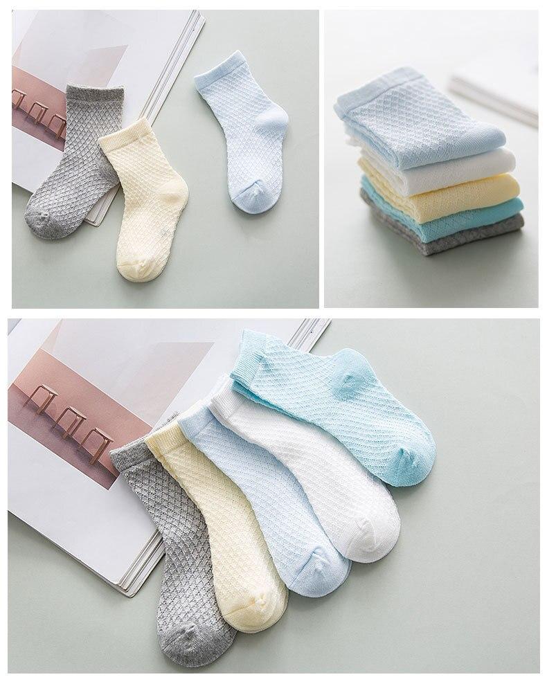 100% Katoen Meisje Prinses Zachte Ruche Sokken Baby Jongen Snoep Kleur Korte Sokken Kids Sokken 5 Paren/partij Gratis Verzending Aantrekkelijke Ontwerpen;