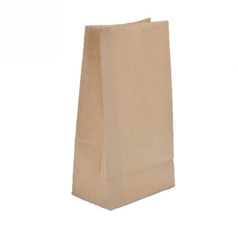 10pcs Lot Small Kraft Paper Gift Candy Bag Vintage Wedding Treat Brown Bags Simple Ping Pouch 24 13 8cm In Baskets From Home Garden