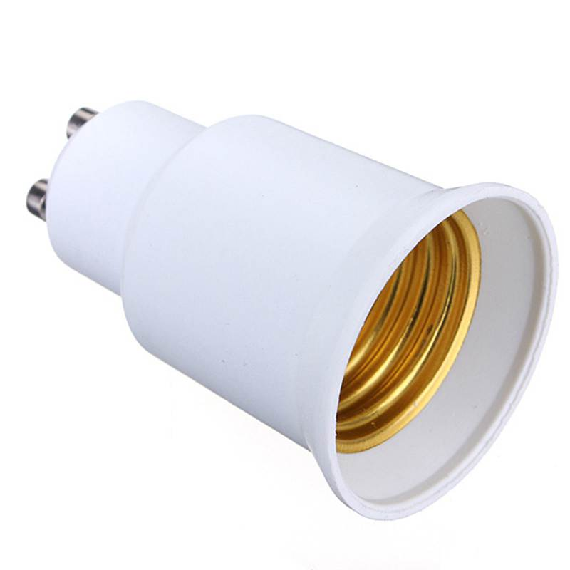 Top Quality GU10 To E27 LED CFL Light Lamp Bulb Converter Holder Adapter Extend Socket Screw LED Base