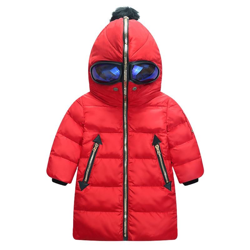 ФОТО New style of 2016 autumn winters altman eyes children down jacket boy girl upset hooded down jacket coat