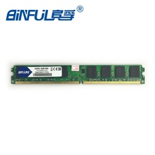 Binfulnew бренд Orignal DDR2 1 ГБ/2 ГБ оперативной памяти 667 мГц PC2-5300 memoria PC2-6400 800 мГц для рабочего стола компьютер DIMM Бесплатная доставка