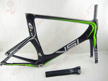 IPLAY 2016 New design Aero Carbon time trial frameset carbon tt triathlon frame with UD BB30(China)