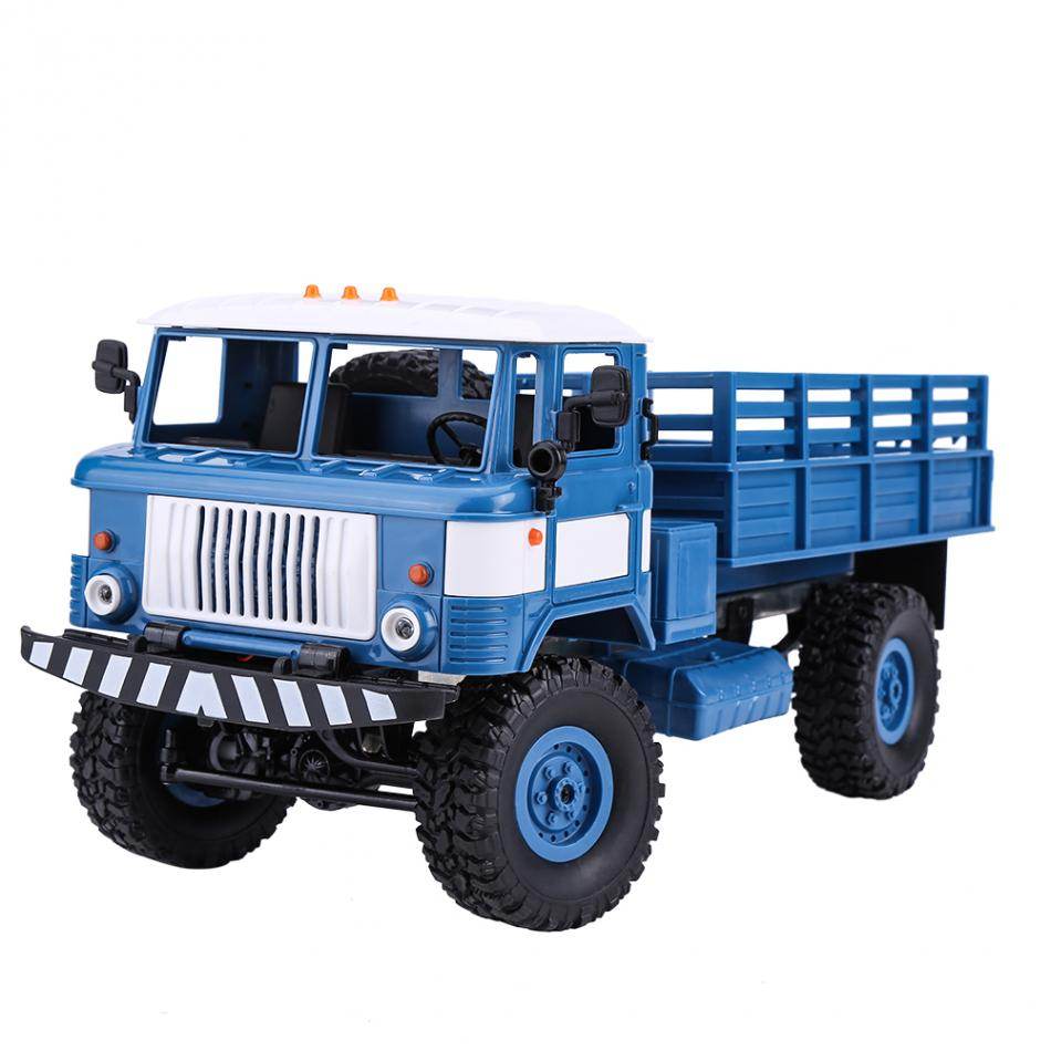 1:16 2.4GHz 4CH RC Crawler Military Climbing Truck Four-wheel Drive Remote Control Vehic ...