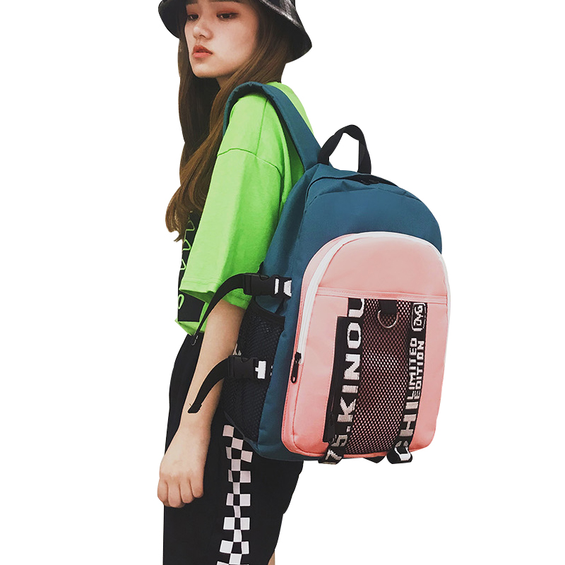 DCIMOR Women Canvas Backpacks School Bags for Teenagers Girls Large Capacity Laptop Backpack Female Travel Bags Student Mochilas men s backpack women backpack female school bag for teenagers men laptop backpacks men travel bags large capacity student bags