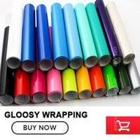 Super Gloss Gloss Orange Vinyl Wrap Glossy Film Car Wrapping Glossy Roll Waterproof Car Styling Vinyl