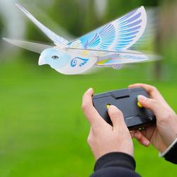 E-birdE-Bird Flying Birds Electronic Mini RC Drone Remote Control Helicopter Toy 360 Degree Flying RC Bird Toy 2.4 GHz