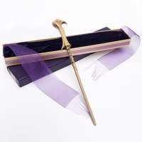 New Arrive Metal Iron Core Lord Voldemort Wand Harry Potter Magic Magical Wand Elegant Ribbon Gift