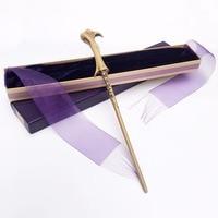New Arrive Metal Iron Core Lord Voldemort Wand Harry Potter Magic Magical Wand Elegant Ribbon Gift