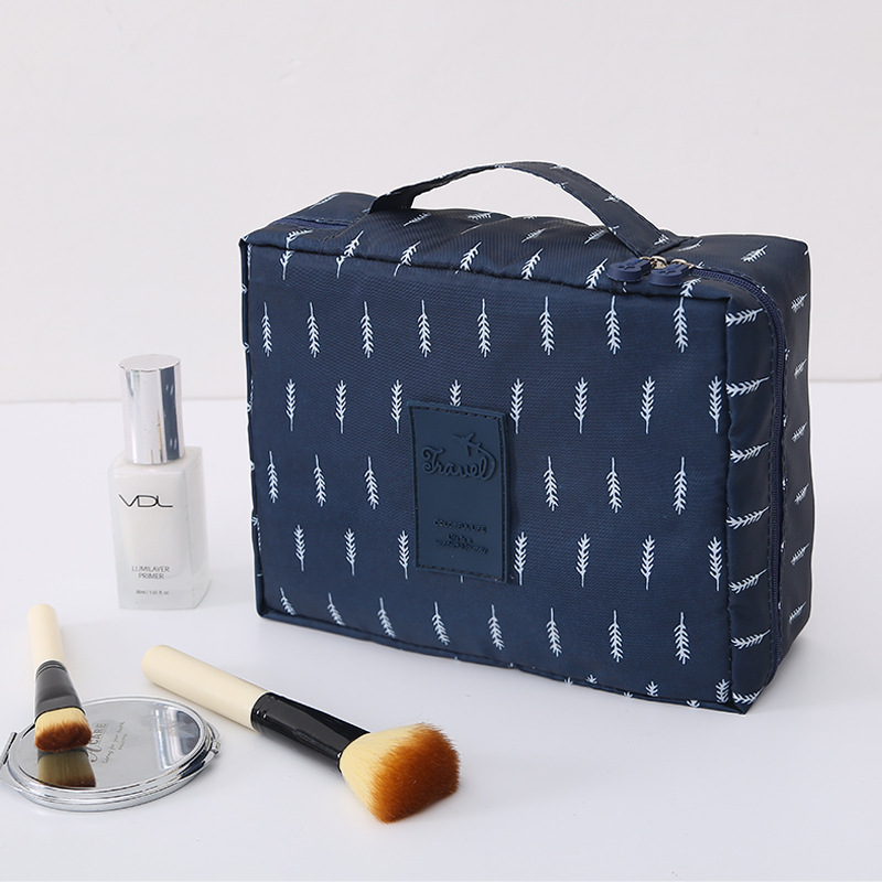 Travel Storage Bag Portable Women Cosmetic Bag Zipper Make Up Bath Organizer Storage Pouch Toiletry Wash Beauty Kit Makeup Bags in Storage Bags from Home Garden
