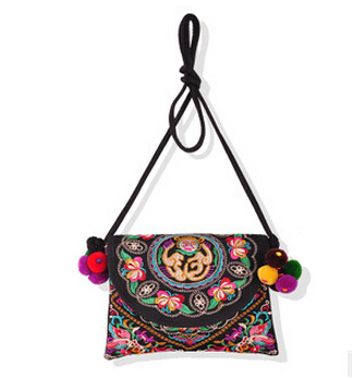 Free Shipping!New Top national Womens embroidery embroidered one-shoulder bags Hot shopping party carrybag national bags