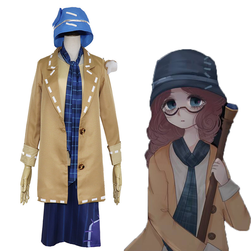Game Identity V Cosplay Costume Blind Girl Helena Adams Cosplay Uniform Costume Halloween Carnival Christmas Party
