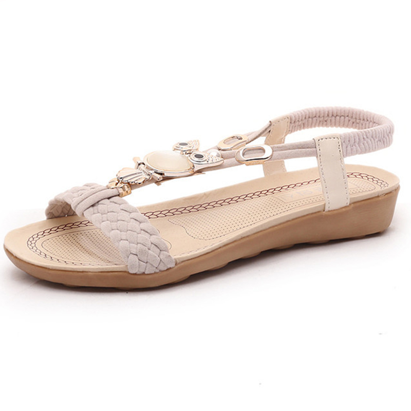 Woman Comfort Beach Shoes Flat Sandals 2018 Fashion Women Sandals Summer Gladiator Shoes Ladies Bohemia Shoes phyanic 2017 gladiator sandals gold silver shoes woman summer platform wedges glitters creepers casual women shoes phy3323