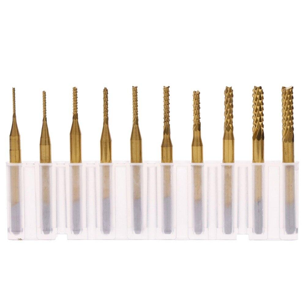10Pcs Press Drilling Bits 1Mm 1.0 Mm Mini Pcb Drill Ic New gi
