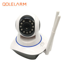 QOLELARM 720 LAN/WIFI IP Camera 10m Night Vision CCTV IP Camera Baby Monitor with APP remote monitor