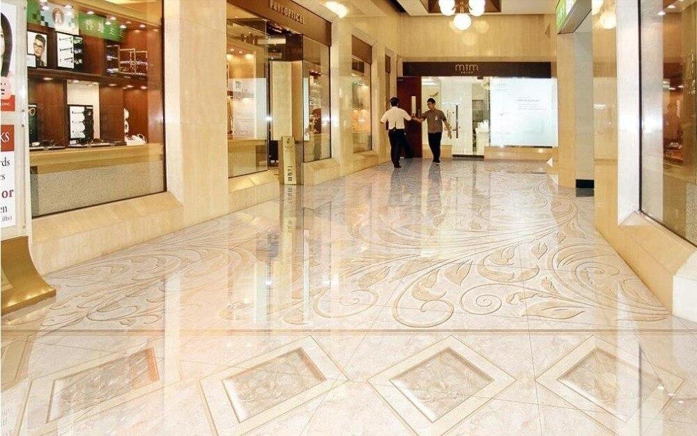 Custom d vloeren patroon jade parket behang d vloeren pvc water