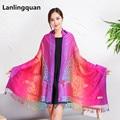 ZA Peacock Winter scarves Cotton scarves for women 2016 New Designer Women Acrylic basic boast warm shawl Bufandas