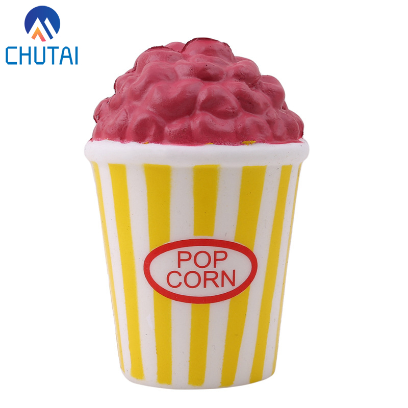 Jumbo 12CM Popcorn Anti-stress Squishy Slow Rising Squeeze Toys Fun Gags Joke Party Props Kids Easter Gift 12*8CM